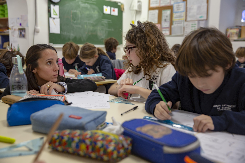 classe des CE2 bilingues